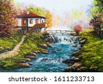 Original Oil Painting Showing...
