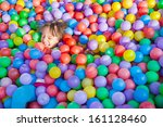 little children on the... | Shutterstock . vector #161128460