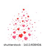 valentines day  love banner ...   Shutterstock .eps vector #1611408406