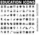 education icons | Shutterstock .eps vector #161151020