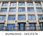 Classical London Architecture.