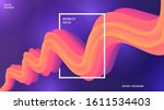 dynamic colorful gradient... | Shutterstock .eps vector #1611534403