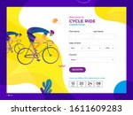 cycle riding competition...