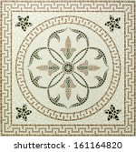 Marble Stone Mosaic Texture. ...