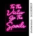 to the victor go the spoils ... | Shutterstock . vector #1611828019