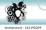 heraldic unicorn coat of arms...   Shutterstock .eps vector #161190209