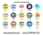 building icons set for business ... | Shutterstock .eps vector #1611999670