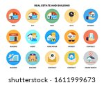 building icons set for business ... | Shutterstock .eps vector #1611999673
