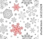 christmas seamless pattern from ... | Shutterstock .eps vector #161212628