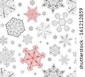 christmas seamless pattern from ... | Shutterstock . vector #161212859