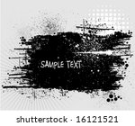 vector grunge background | Shutterstock .eps vector #16121521