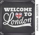 Chalkboard Style London...
