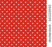 Seamless Polka Dot Red Pattern...