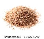 heap of bran | Shutterstock . vector #161224649