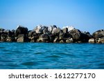 Large Boulders In The Sea...