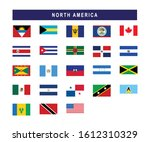 set of north american countries ... | Shutterstock .eps vector #1612310329