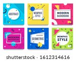 abstract geometric frame....   Shutterstock . vector #1612314616