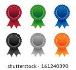 blank seal | Shutterstock .eps vector #161240390