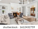 Beautiful Living Room In New...