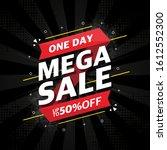 red sale banner template design ...   Shutterstock .eps vector #1612552300