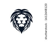 lion head vector icon... | Shutterstock .eps vector #1612648120