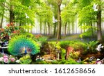 3d Nature Forest And  Animals ...