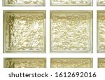 isolated yellow tone colors... | Shutterstock . vector #1612692016