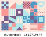 modern artwork of abstract... | Shutterstock .eps vector #1612719649