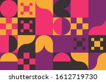 modern artwork of abstract... | Shutterstock .eps vector #1612719730