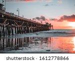 Sunset At San Clemente Pier...