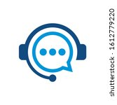 headphones logo can be used for ... | Shutterstock .eps vector #1612779220