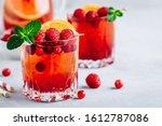 Raspberry Cranberry Sangria...