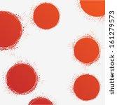 grunge shapes  | Shutterstock .eps vector #161279573