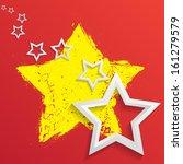 star background  | Shutterstock .eps vector #161279579