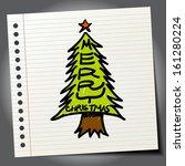 Decorated Christmas Fir Tree....