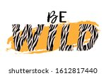 vector illustration with be... | Shutterstock .eps vector #1612817440