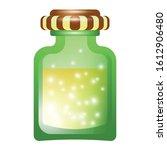 magic potion bottle icon....