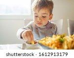 portrait of small little cute...   Shutterstock . vector #1612913179