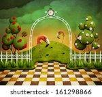 Background Or Illustration Or...
