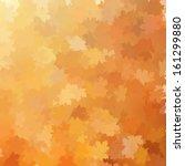 Autumn Background Template. An...