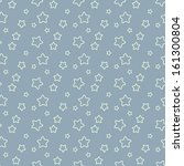 seamless blue pattern with... | Shutterstock .eps vector #161300804