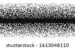 black and white random pixels... | Shutterstock .eps vector #1613048110