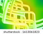 light green  yellow vector... | Shutterstock .eps vector #1613061823