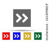 arrow  forward multi color...