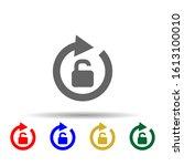 arrow  unlock multi color style ...