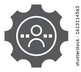 skill glyph icon  business and... | Shutterstock .eps vector #1613114563