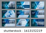 abstract presentation templates ... | Shutterstock .eps vector #1613152219