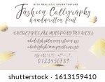 handwritten calligraphy elegant ... | Shutterstock .eps vector #1613159410