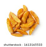 Portion of fresh baked potato...
