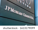 Small photo of Dec 17, 2019 San Francisco / CA / USA - JP Morgan Chase & Co. offices in SOMA District; JPMorgan Chase & Co. is an American multinational investment bank and financial services holding company